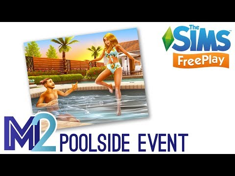 Sims FreePlay - Poolside Paradise Event (Early Access)