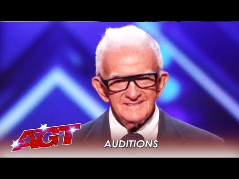 84-Year-Old SHOCKS America With Age-Defying Act! WHAT?! | America's Got Talent 2019 (видео)