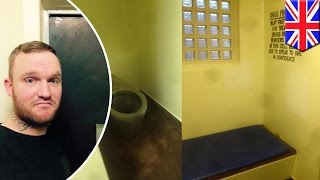 TripAdvisor review of jail posted to Facebook by man who snuck iPad into cell - TomoNews