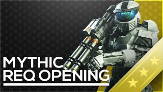 Halo 5 Mythic & Legendary REQS - Opening 15 Gold REQ Packs
