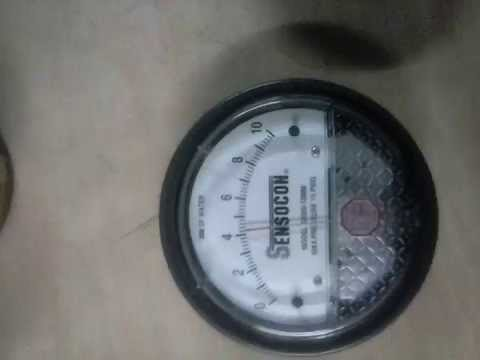 alternative to Dwyer Magnehelic Sensocon Pressure Gauge 0-60PA//0-0.25 In w.c