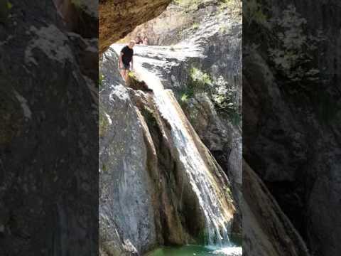Piscina natural,la gorguina,la febró,Tarragona,Catalunya,