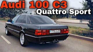 Audi 100 С3 Quattro Sport - estas palavras bastam.