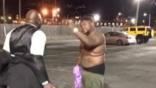 Fatboy SSE Squares Up To Fight His Driver