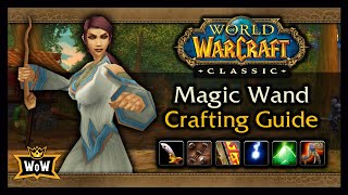 How to Solo Craft Magic Wands on a FRESH Server - Classic WoW: Profession Guide