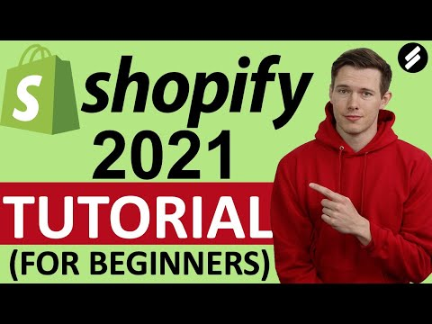 Shopify Tutorial 2021 (for Beginners) - Create A Professional Online Store - Easy!