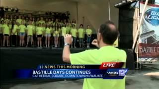 Kidd visits Bastille Days in Milwaukee