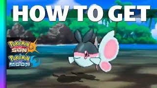 Lumineon  - (Pokémon) - HOW TO GET Finneon in Pokemon Sun and Moon