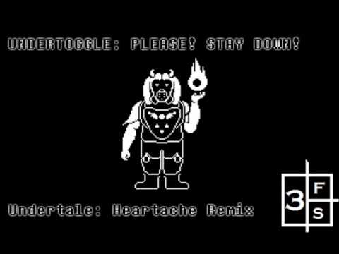 Undertoggle: Please! Stay Down! (AU - Heartache Remix)