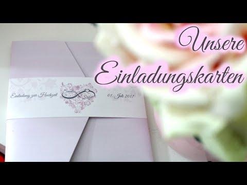 Unsere Einladungskarten | Hochzeitseinladung Textideen | braut.TV