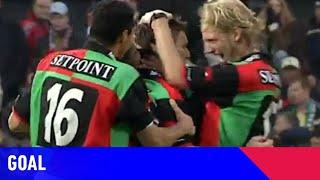 SCHITTERENDE UITHAAL ÉDGAR BARRETO IN DE KUIP?   Feyenoord - N.E.C. (05-12-2004)   Goal