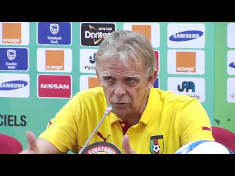 Cameroon - Press Conference (23/01) - Orange Africa Cup of Nations, EQUATORIAL GUINEA 2015