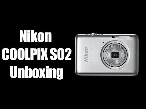 Nikon COOLPIX S02 Unboxing