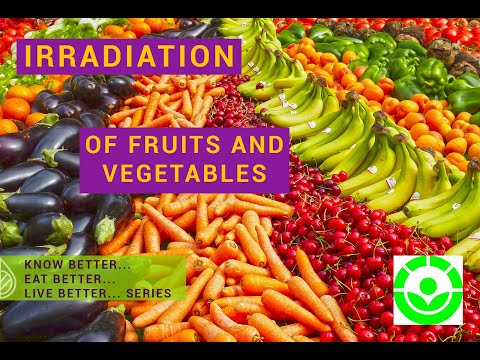, title : 'Irradiation of fruits and vegetables