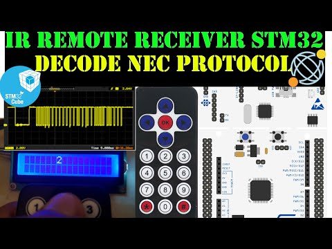 ir remote with STM32 || HAL || CubeMx || Keil || NEC