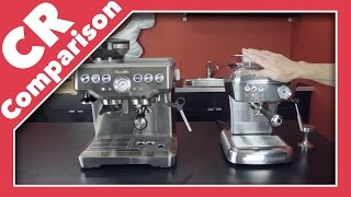 Breville Barista Express Vs Ascaso Dream Up | CR Comparison