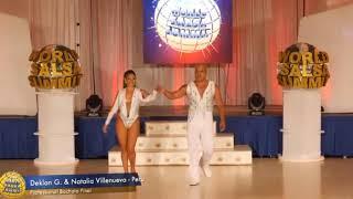 Deklan Guzman & Natalia Villanueva WORLD SALSA SUMMIT 2019 BACHATA PRO FINALS