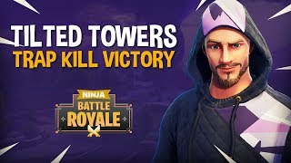 Tilted Towers: Trap Kill Victory!!   Fortnite Battle Royale Gameplay   Ninja & KingRichard