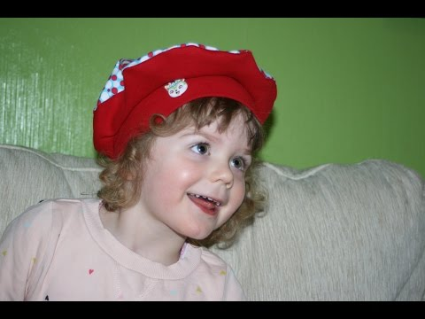 Baskenmütze Emma von April-Sonne mit kostenlosem Schnittmuster
