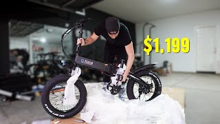 This E–Bike is probably the BEST VALUE for your money