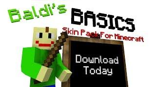Baldi's Basics Skin Pack