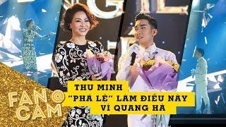 Thu Minh PHÁ LỆ làm điều này vì Quang Hà
