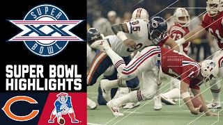 Super Bowl XX: Bears vs. Patriots | NFL