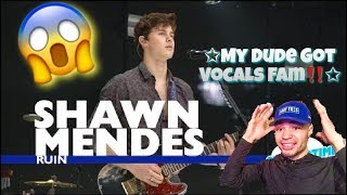 "SHAWN MENDES (He Was ON POINT FAM🔥🤙🏼) ""Ruin"" Summertime Ball REACTION !!"