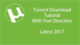 How to Download Torrent File - Tutorial with Text-on Direction