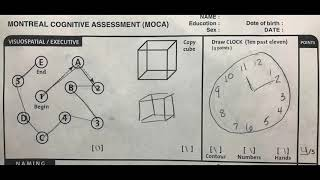 Montreal Cognitive Assessment (MoCA) Instructional Video