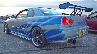 BEST OF JDM Tuning Cars! Nissan R34 R35 GT-R, 370Z, Toyota Supra, Lancer Evo