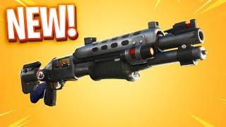The New LEGENDARY TAC SHOTGUN In Fortnite.. 😂