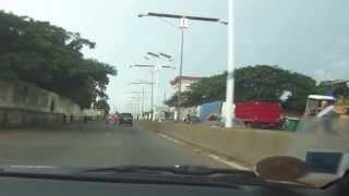 preview picture of video 'Embouteillage de lampadaire à Conakry'