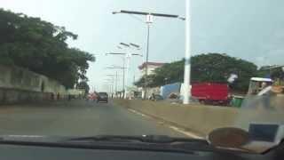 preview picture of video 'Embouteillage de lampadaire à Conakry'