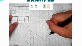 Multiview to Isometric Drawings