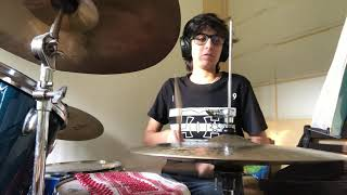 Borderline Brandy drums Cover
