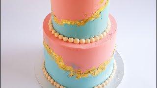 Gender Reveal Cake Tutorial- Rosies Dessert Spot