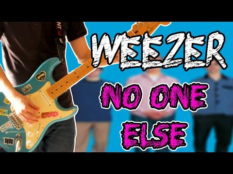 Weezer - No One Else Guitar Cover 1080P