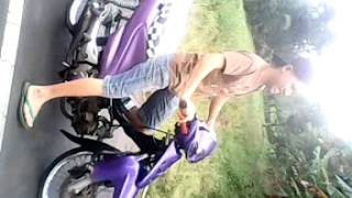 preview picture of video 'tes motorcycle pertas (TOMOHON) SMASH 180cc'