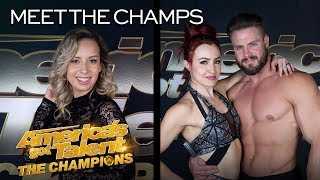Duo Transcend and Dania Diaz Bring EXCITEMENT To Champions! - America's Got Talent: The Champions thumbnail