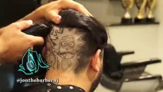 Rick & Morty HAIR ART