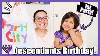Party Planning Alondras 5th Birthday! Descendants Theme, Party Favors & MORE!