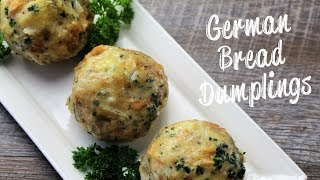 German Bread Dumplings