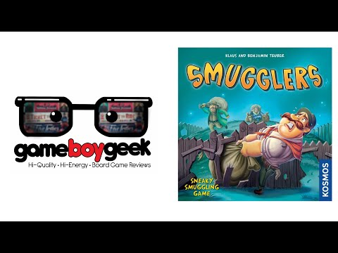 The Game Boy Geek Reviews Smugglers