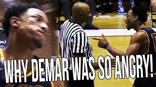 The REAL Reasons Why Demar Derozan Got Mad & Threw The Ball At Drew League Referee