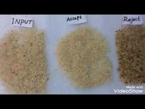 GENN RX-Series Rice Color Sorter