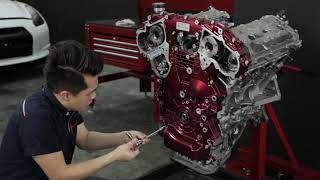 Nissan GT-R R35 Engine Restoration by Hanz autoworks