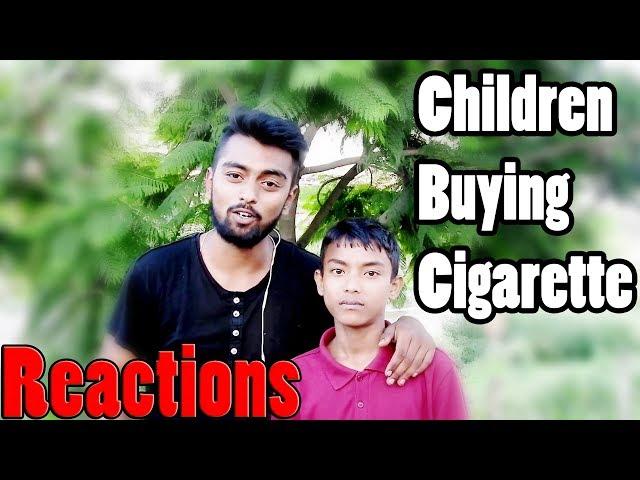 Children Buying Cigarette In Nepal (Reactions)