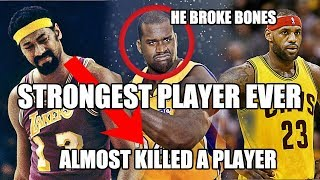 The STRONGEST Player In NBA History