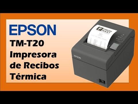 Epson ReadyPrint ® T20 Impresora de Recibos Térmica TM-T20